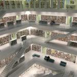 eine rieisge Bibliothek